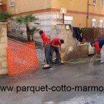 pavimenti in porfido - pulizia fine cantiere