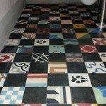 pavimento in Cementine nuove -