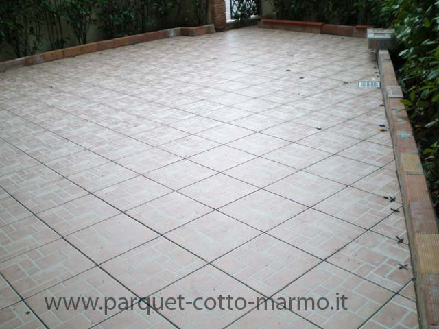 Pavimento in Gres tradizionale Roma
