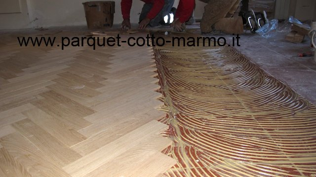pavimenti in legno-posa