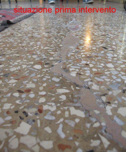 Riparazione pavimento alla veneziana pavimenti a roma for Veneziana pavimento