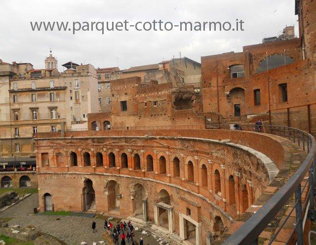 Pavimenti per esterno – Mercati di Traiano – Roma
