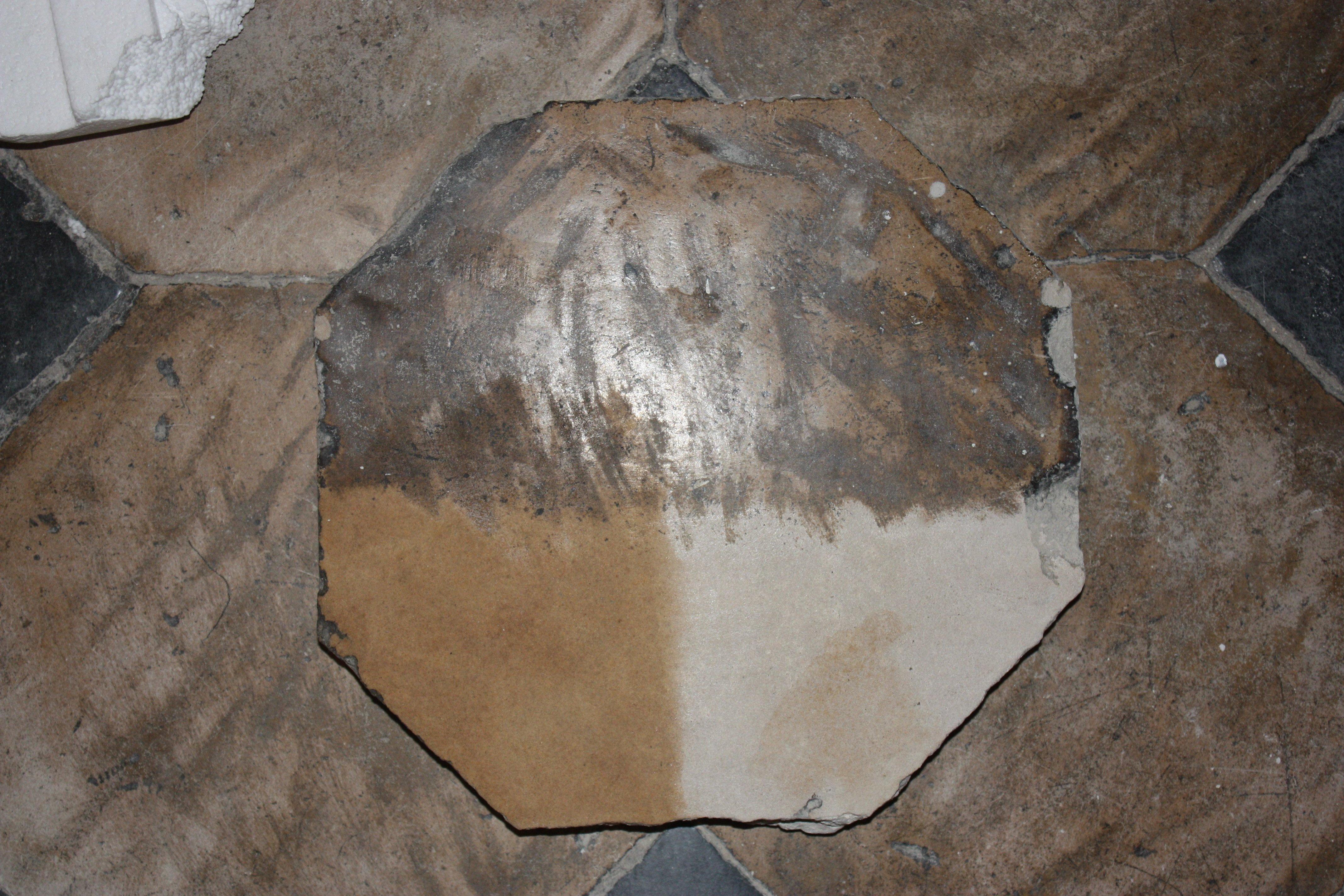Exceptional Pavimento In Cementine_dopo_carteggiatura. Prova LEVIGATURA E IMPREGNAZIONE  Con Olio