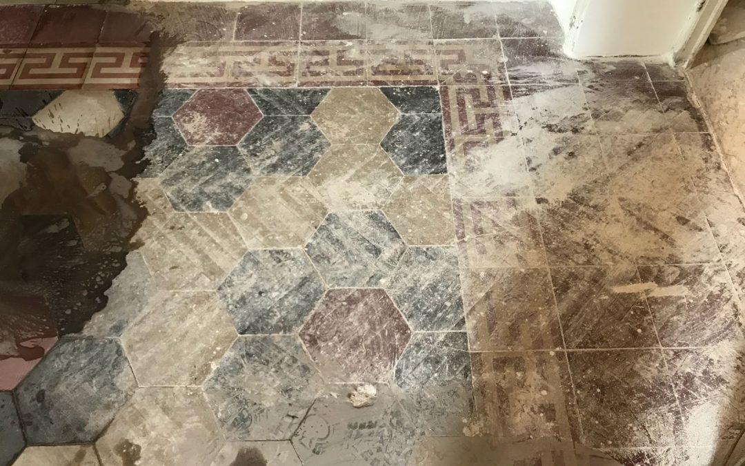 cementine antiche rovinate