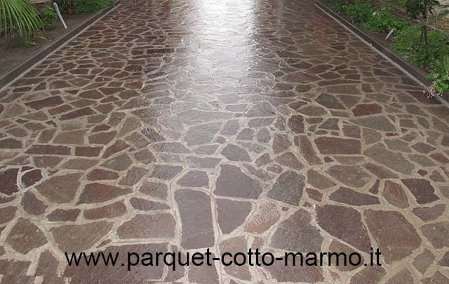 Pavimenti in porfido la nostra guida pavimenti a roma - Pulire fughe piastrelle da olio ...