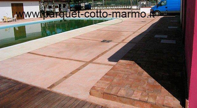 Pavimento per esterno pavimenti a roma - Pavimento in cotto per esterno ...