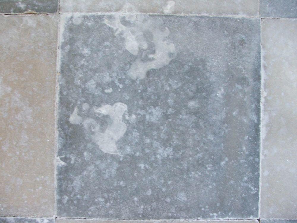 Cementine antiche macchiate pavimenti a roma