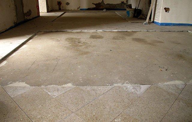 Casa mobili interni: mattonelle graniglia