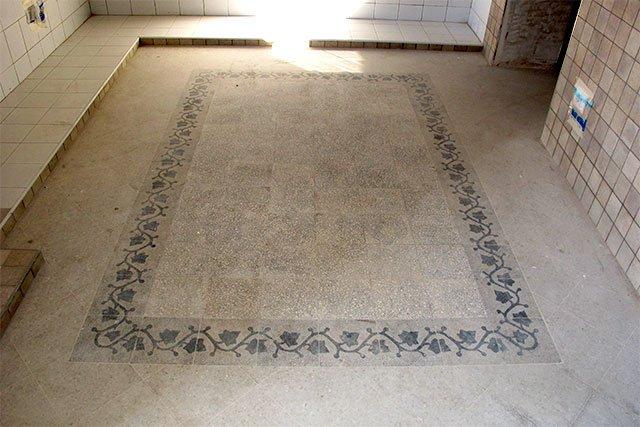 Come recuperare le vecchie graniglie pavimenti a roma for Piastrelle graniglia