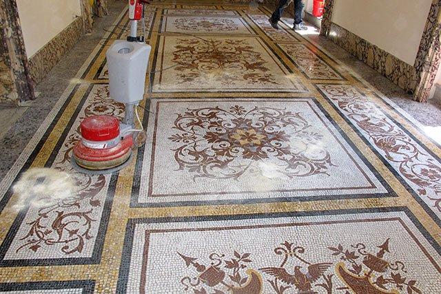 Popolare Lucidatura Naturale dei pavimenti in Marmo e derivati UF38