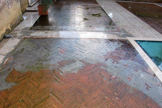 Come Pulire Le Piastrelle Di Terracotta : Come pulire il cotto da esterno. fabulous with come pulire il cotto
