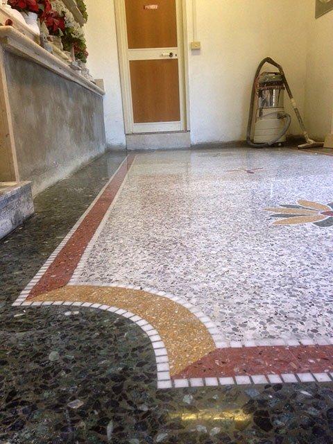 Terrazzo alla veneziana roma il ritorno pavimenti a roma for Veneziana pavimento