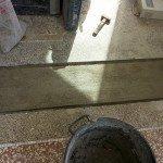 riparare un pavimento alla veneziana