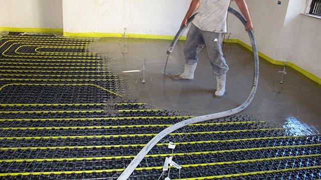 Impianti di riscaldamento a pavimento : come non sbagliare la scelta del massetto