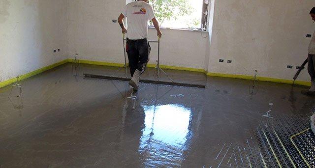 Impianti di riscaldamento a pavimento quale massetto for Grandi pavimenti del garage