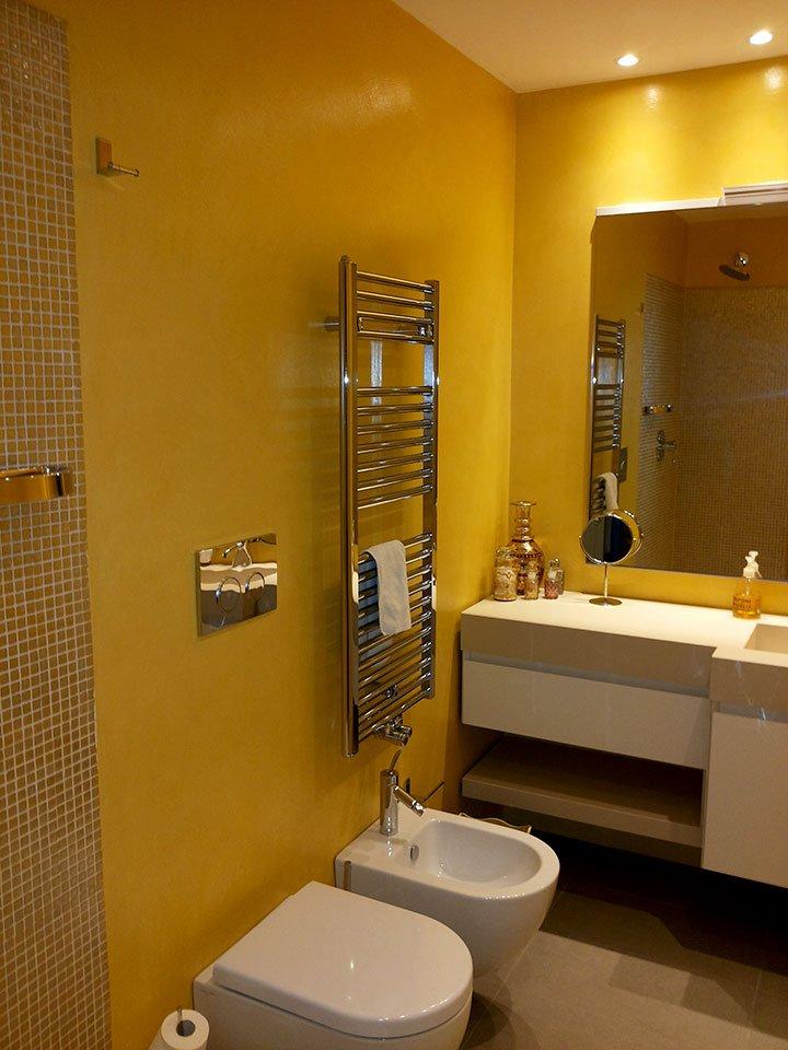 Pavimenti in microcemento e rivestimenti pavimenti a roma - Microcemento bagno ...