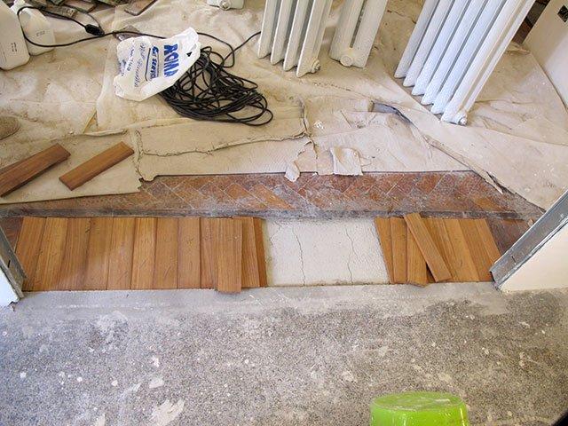 riparazione parquet per infiltrazione pavimenti a roma
