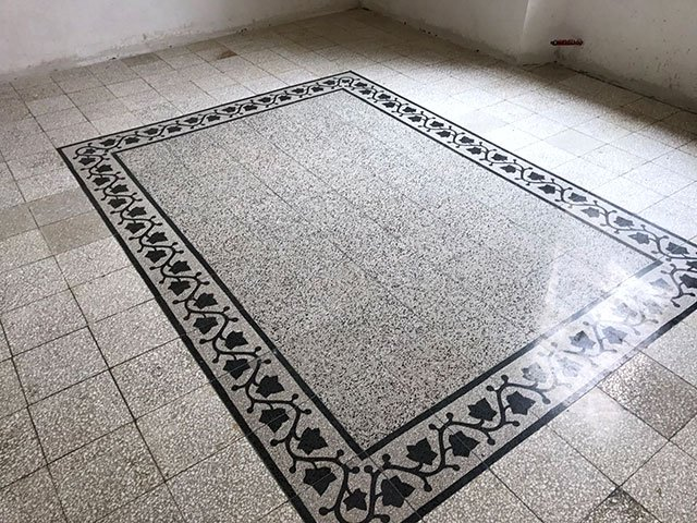 Pavimenti vecchi 8 diverse soluzioni per il recupero pavimenti a roma - Piastrelle di graniglia ...