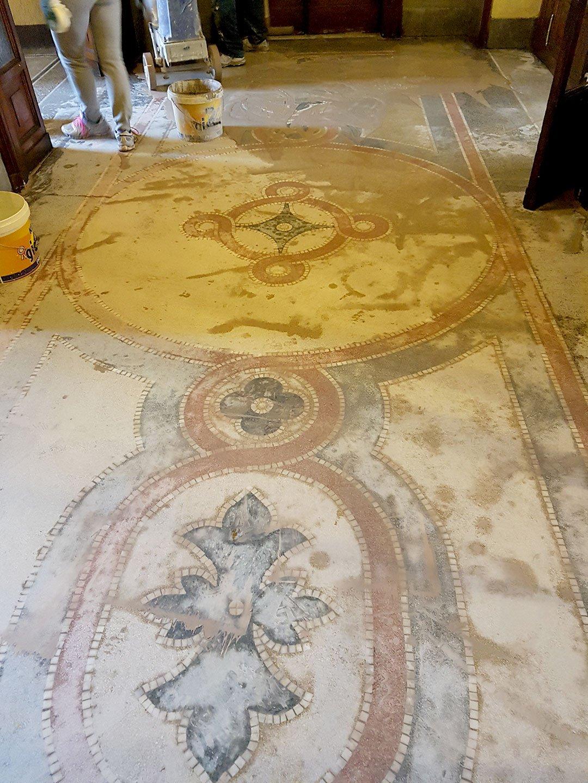 Piastrelle Seminato Alla Veneziana pavimenti vecchi: 8 diverse soluzioni per il recupero