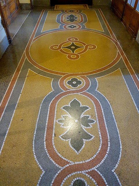 pavimento alla veneziana- restauro