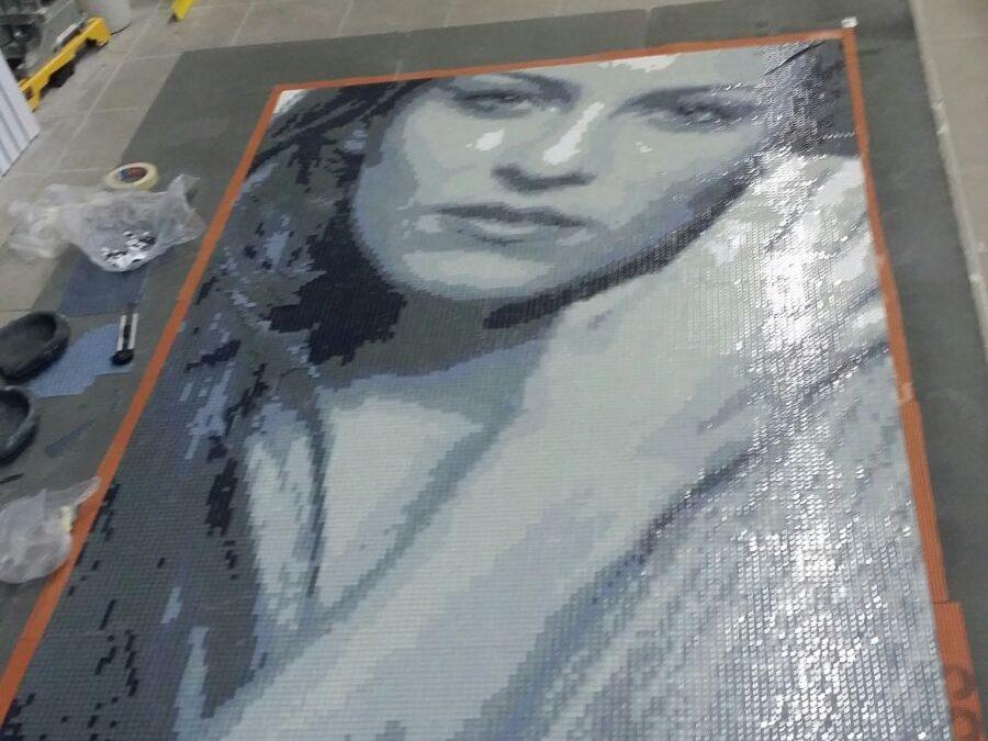 Mosaico Moderno in Vetro o Marmo