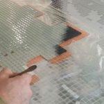 mosaico moderno in vetro