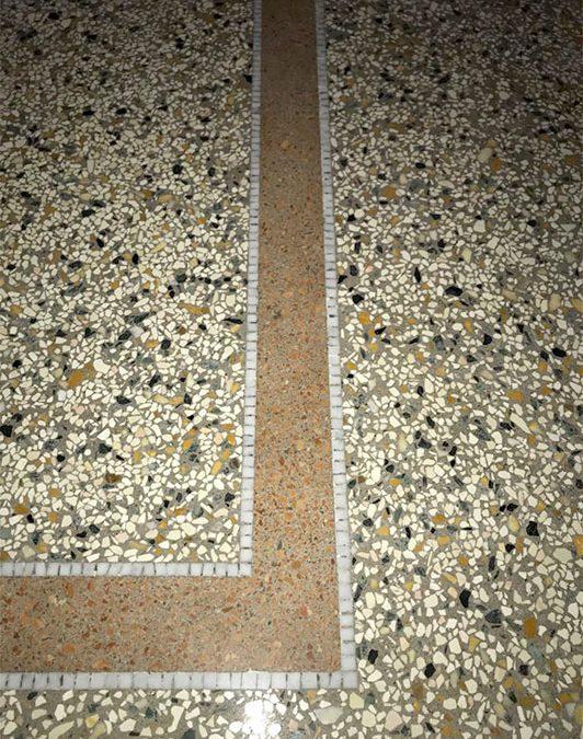 Pavimento alla genovese o terrazzo alla veneziana?