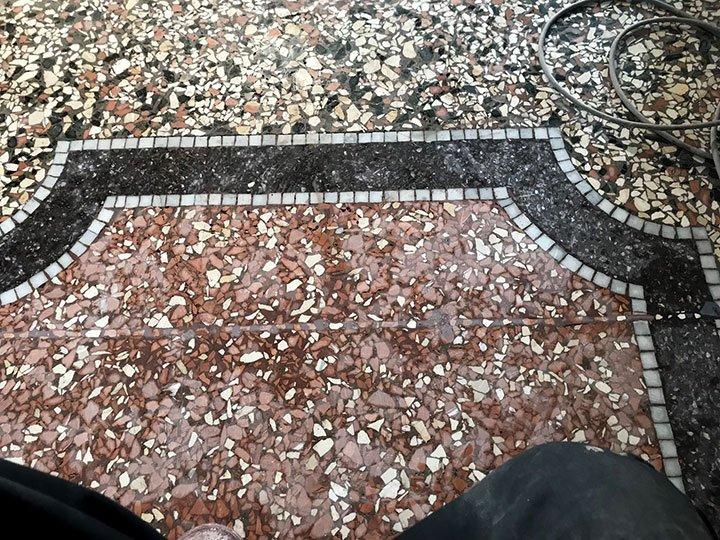 Restauro Pavimenti alla veneziana