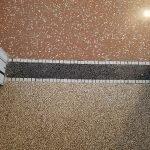 fascia di unione tra due pavimenti