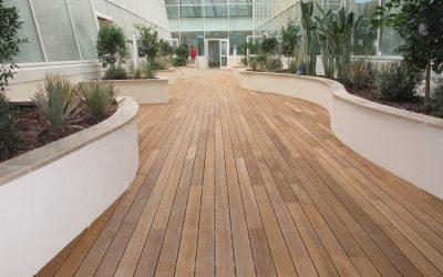 Pavimento in legno per esterno_Decking