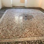 Restauro pavimento alla veneziana 1815